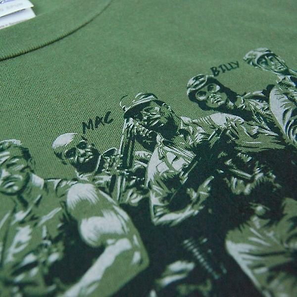 Honcho SFX Mens Rescue Team não Assassins Predator camiseta verde