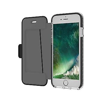 Celly Hexagon Wallet Case For iPhone 6/7/8/SE 2020 Black