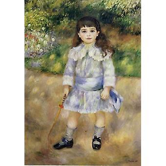 طفل مع سوط,بيير رينوار, 60x40cm