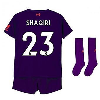 2018-2019 Liverpool Away Little Boys Mini Kit (Shaqiri 23)