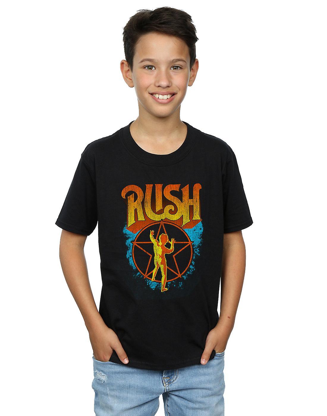 Rush Boys Sunburst Star T-Shirt