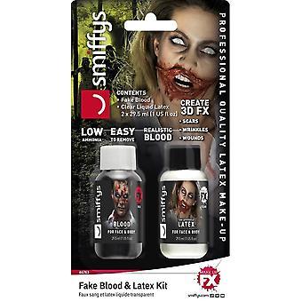 Fake blod & Latex,