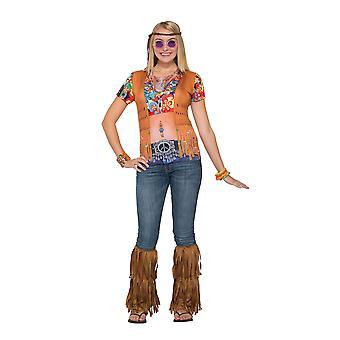 3D paita hippi tyttö, 1960-luvulla Hippy
