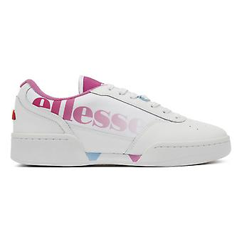 Ellesse Piacentino Womens blancs / roses Super formateurs