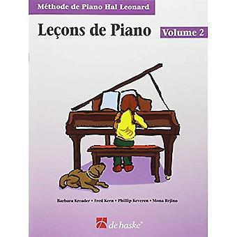 Pianolektioner bok 2 - franska upplagan: Hal Leonard Student Piano bibliotek
