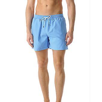 Mey 45535-606 Men-apos;s Badeshorts Uni Ocean Blue Short Swim Trunks
