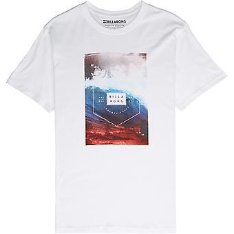 Billabong section kortärmad T-shirt i vitt