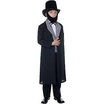 Abraham Lincoln kind kostuum - 22031