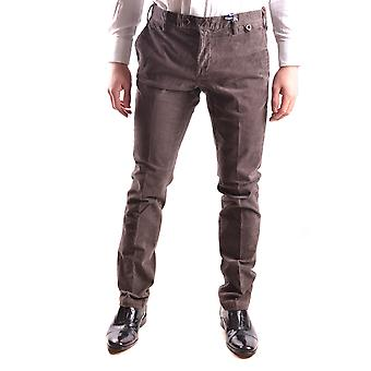 At.p.co Ezbc043035 Men's Brown Velvet Pants
