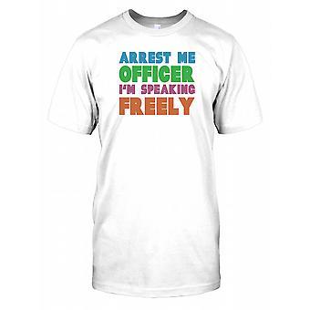 Prender-Me oficial estou falando livremente Mens T-Shirt