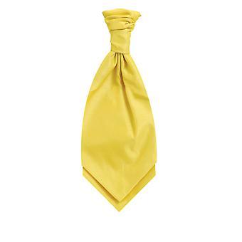 Dobell Yellow Dupion Cravat (Pre-Tied & Hand Tied)