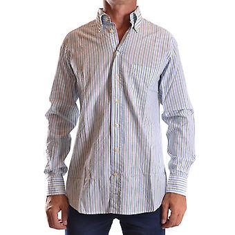 Gant Ezbc144054 Uomo's Camicia di cotone azzurro/bianco