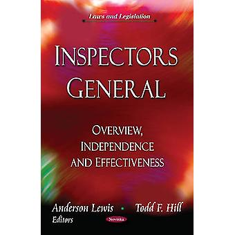 Inspectors General - Overview - Independence & Effectiveness by Anders