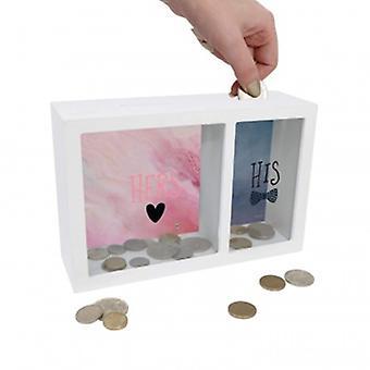 Splosh Gifts His & Her Change Box