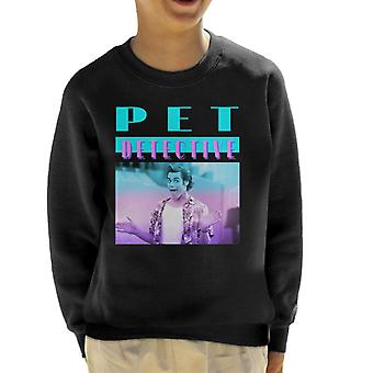 Ace Ventura Pet Detective Movie Scene Kid's Sweatshirt