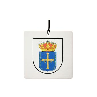 Asturias Spain Coat Of Arms Car Air Freshener