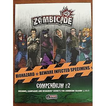 Zombicide Compendium 2 expansion Book