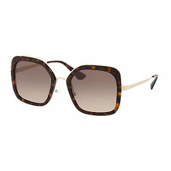 Prada SPR57US Brown gradient gray scale