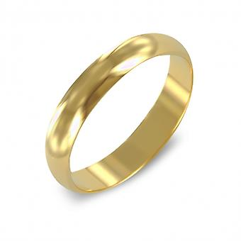 Gold Plated Ring Alliance 3mm