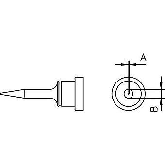 Weller LT-1S soldeer Tip Round, lange Tip maat 0,2 mm inhoud 1 PC (s)