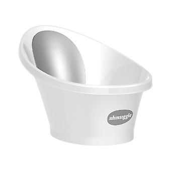 Shnuggle Bath-valkoinen harmaa selkä Noja