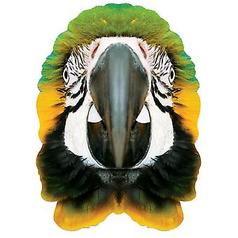 Parrot Animal Single 2D Card Party Fancy Dress Mask