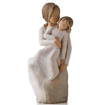Willow Tree Mother Daughter Hand Painted Figurine