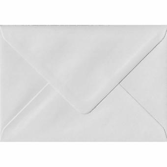 White Gummed Gift/Place Card Coloured White Envelopes. 130gsm FSC Sustainable Paper. 70mm x 110mm. Banker Style Envelope.
