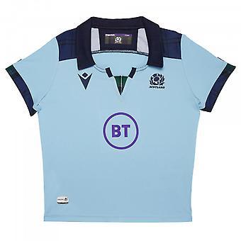 2019-2020 اسكتلندا ماكرون بديل الركبي قميص صغير