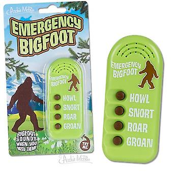 Character Goods - Archie McPhee - Button - Emergency Bigfoot 12745