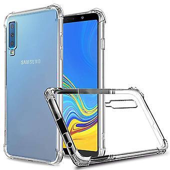 Samsung A7 2018 tapauksessa läpinäkyvä - Anti-Shock