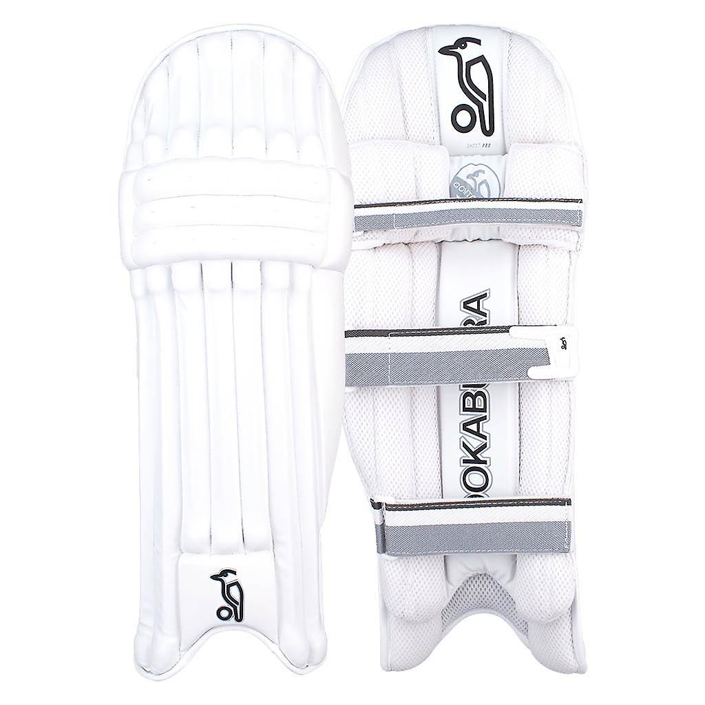 Kookaburra 2019 Ghost Pro Cricket Batting Pads Leg Guards White