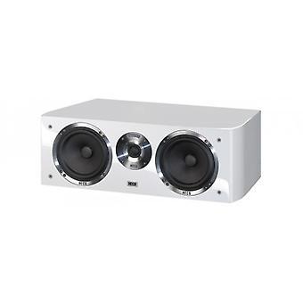 Heco Celan GT Center 42, 2 way bass reflex Center speaker, color: white, 1 piece new goods