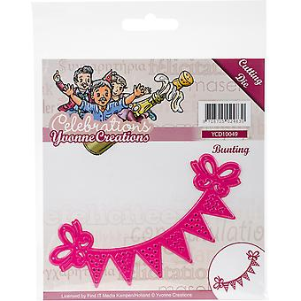 Find It Trading Yvonne Creations Die-Bunting, Celebrations