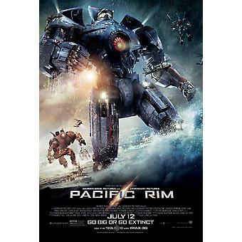 Pacific Rim poster dubbel zijdig Regular (2013) originele Cinema poster
