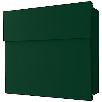 RADIUS letterbox Letterman 4 dark green wall mailbox 560o