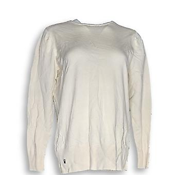 Belle by Kim Gravel Women's Sweater Blouson Ivory a299312