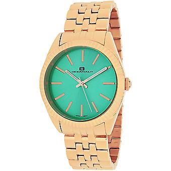 Oceanaut Women's Chique Green Dial Watch - OC7412