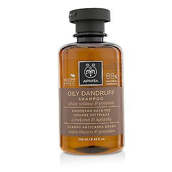 Oily Dandruff Shampoo With White Willow & Propolis (for Oily Scalp) - 250ml/8.45oz