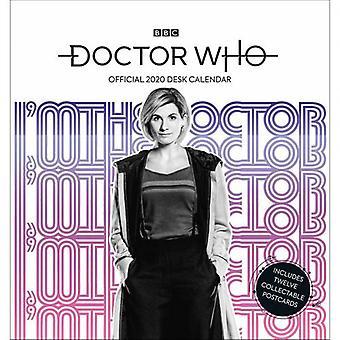Doctor Who Desktop Calendar 2020