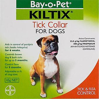 Kiltix Tick & Flea Collar - Protects up to 5 Months