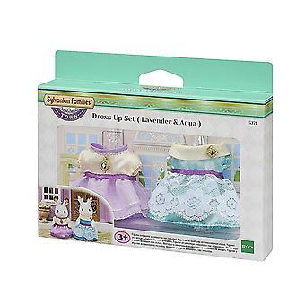 Sylvanian Families - Town Dress Up Set Lavender & Aqua Toy
