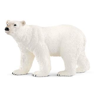 Schleich vill livet isbjørn Toy figur (14800)