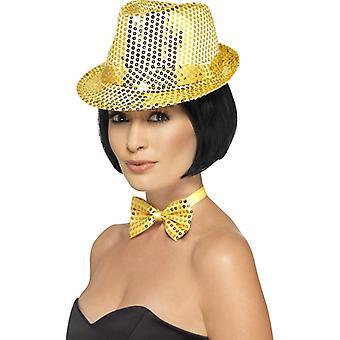 Sequin Trilby pălărie
