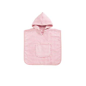 Bellybutton by Vossen 117781 Kids Baby Stripe Poncho Robe