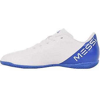 adidas Performance Boys Nemizi Messi Tango 18.4 Indoor Football Trainers - White