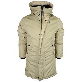 G-Star Whistler Strett Sherpa Hooded Sahara Parka jas bruin