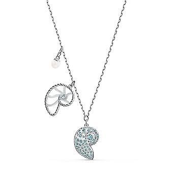 Swarovski Halskette 5520669 - weiße Kristalle Kristalle Halskette Set blau Frauen