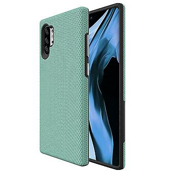 Dla Samsung Galaxy Note 10 + Plus Armour Case Shockproof Slim Back Cover Mint