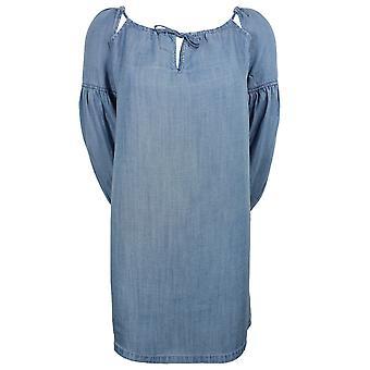 Суперсыри женщины'apos;s индиго свет аризона заглянуть бу платье